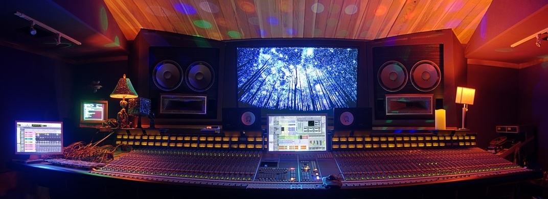 Studio A SSL Mix room